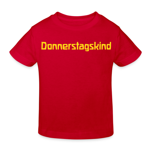 Donnerstagskind Bio Shirt - Kids' Organic T-Shirt