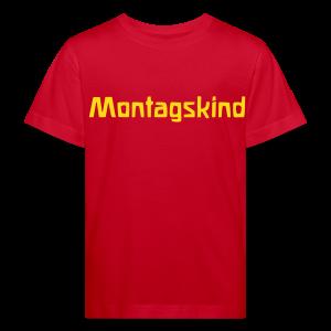 Montagskind Bio Shirt - Kinder Bio-T-Shirt