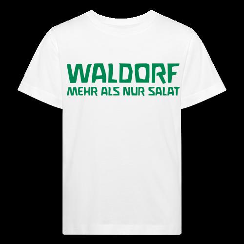 WALDORF MEHR ALS NUR SALAT Bio Shirt - Kinder Bio-T-Shirt