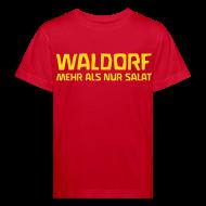 T-Shirts ~ Kinder Bio-T-Shirt ~ WALDORF MEHR ALS NUR SALAT Bio Shirt