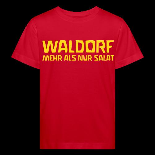 WALDORF MEHR ALS NUR SALAT Bio Shirt - Kids' Organic T-Shirt