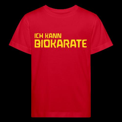 ICH KANN BIOKARATE Bio Shirt - Kinder Bio-T-Shirt