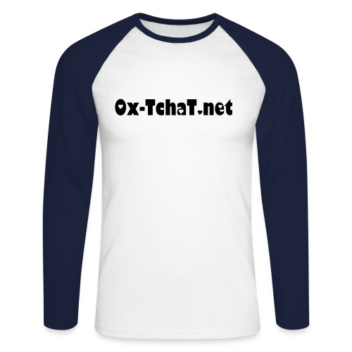 Ox-TchaT - T-shirt baseball manches longues Homme