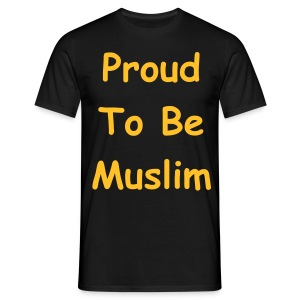 Proud To Be Muslim ... Homme - T-shirt Homme