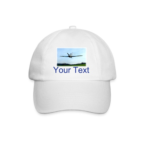 RC Spitfire Baseball Cap with custom text - Baseball Cap