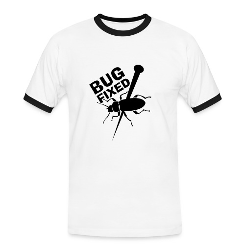 Bug Fixed Männer - Männer Kontrast-T-Shirt
