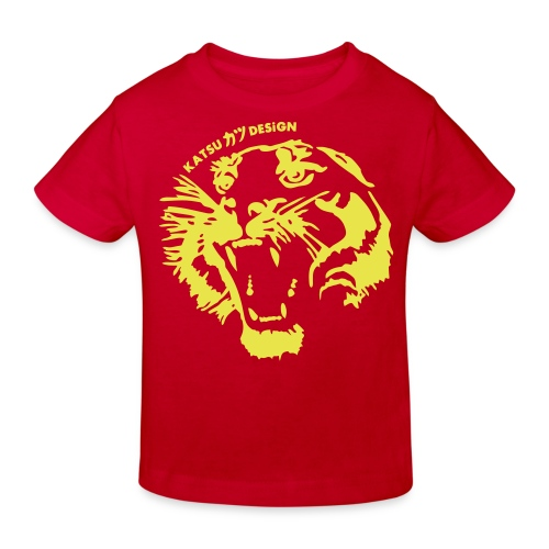 Kinder Bio-T-Shirt - Tigerboy II.
