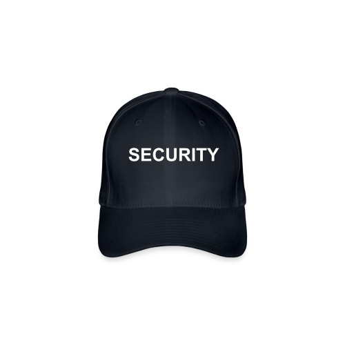 Security Cap (Black) - Flexfit Baseball Cap