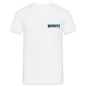 Blue Security (White) - Men's T-Shirt
