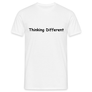 Thinking different - I use Linux - Men's T-Shirt
