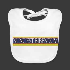 NUNC EST BIBENDUM - Baby Organic Bib
