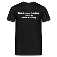T-Shirts ~ Men's T-Shirt ~ Global Warming