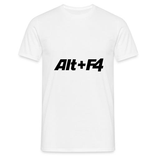 ALT F4 - Männer T-Shirt