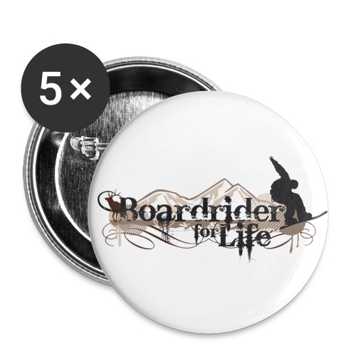 Boardrider for life Button - Buttons mittel 32 mm