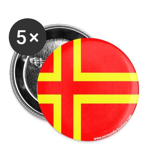 5 Badges Saint-Olaf - Lot de 5 moyens badges (32 mm)