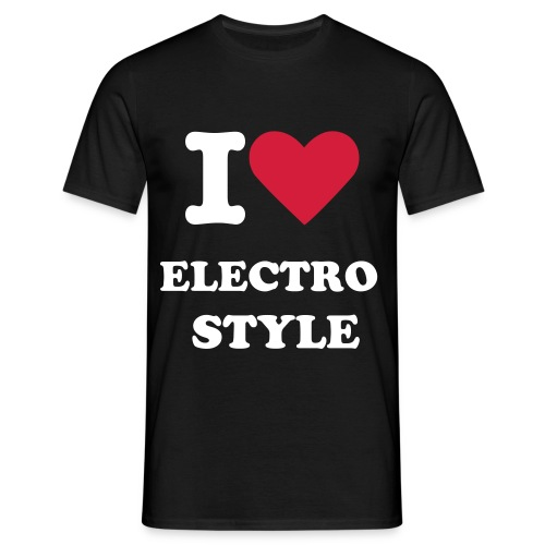 le tee hirt electo style - T-shirt Homme