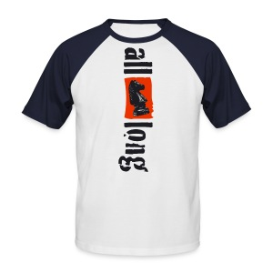 all (knight) long - Mannen baseballshirt korte mouw