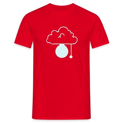 ERLEUCHTUNG-red|reflex (Boys) - Männer T-Shirt