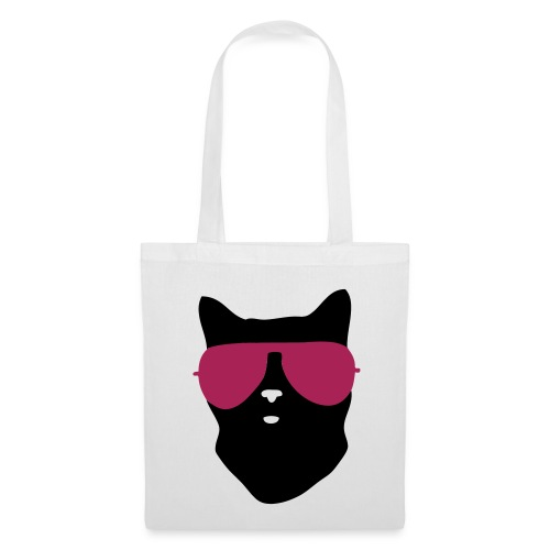 cool cat canvas bag - Tote Bag
