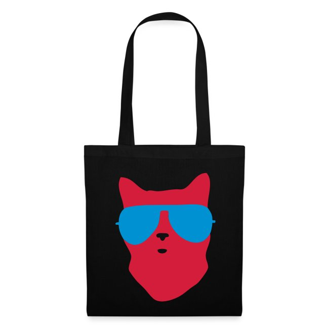 cool cat canvas bag