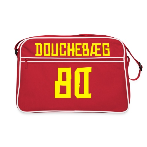DoucheBÆG red - Retro Bag