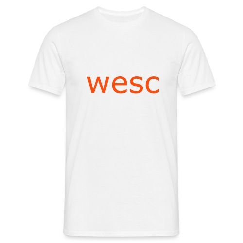 wesc t-shirt - T-skjorte for menn