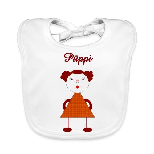 Püppi_original_digital - Baby Bio-Lätzchen