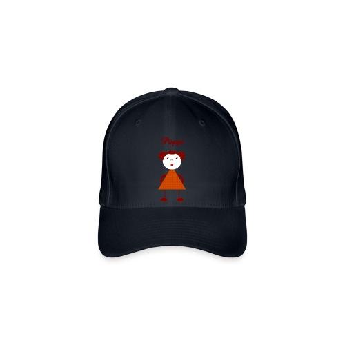 Püppi_original_digital - Flexfit Baseballkappe