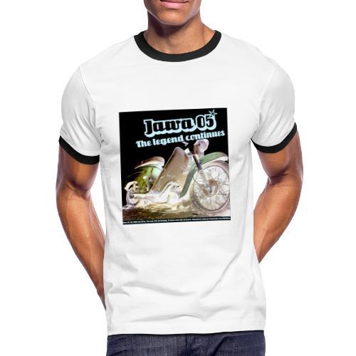 Jawa Legend - Männer Kontrast-T-Shirt