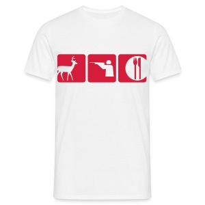vegetarians  - Men's T-Shirt