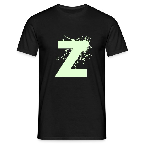 ZP Black03 fluo - Men's T-Shirt