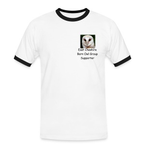 ECBOG Supporter Slim Fit T Shirt - Men's Ringer Shirt