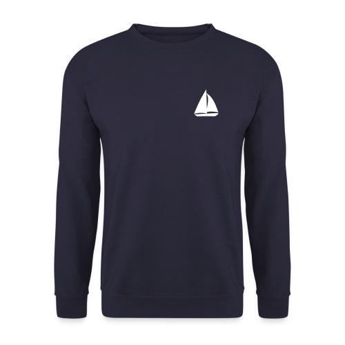 I love Sailing - Schlichtes Sweat-Shirt mit Segelmotiv ohne Text - Männer Pullover