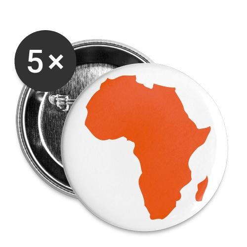Afrique - Lot de 5 petits badges (25 mm)