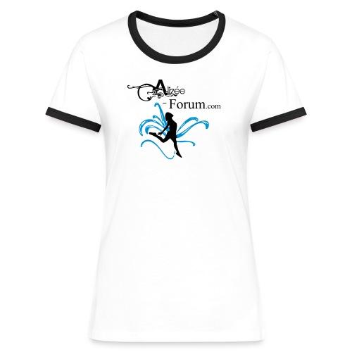 Retro Girls - Women's Ringer T-Shirt