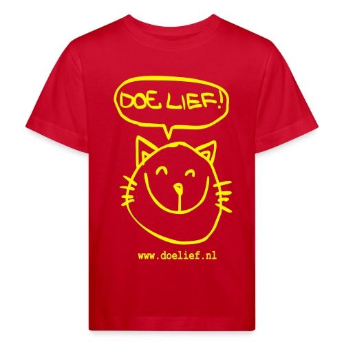 Doe Lief Poes kids - Kinderen Bio-T-shirt