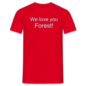 We love you forest - Men's T-Shirt