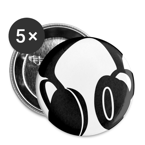 Head Phone Button - Buttons small 25 mm