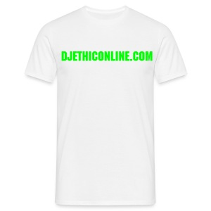 DJETHICONLINE.COM Green - Men's T-Shirt