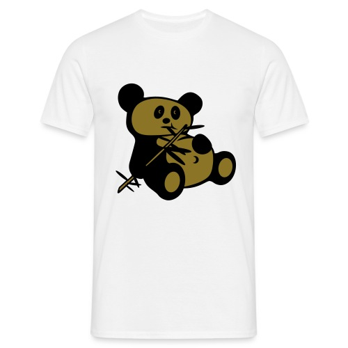 Lazy Panda - Men's T-Shirt
