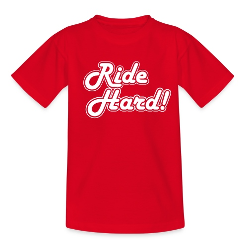 Ride Hard - Teenager T-shirt