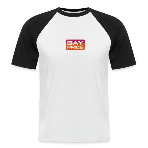 Gay Pride - Camiseta béisbol manga corta hombre