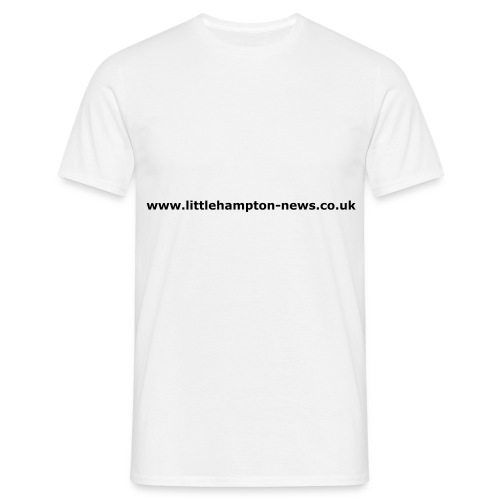 Littlehampton News T-shirt - Men's T-Shirt