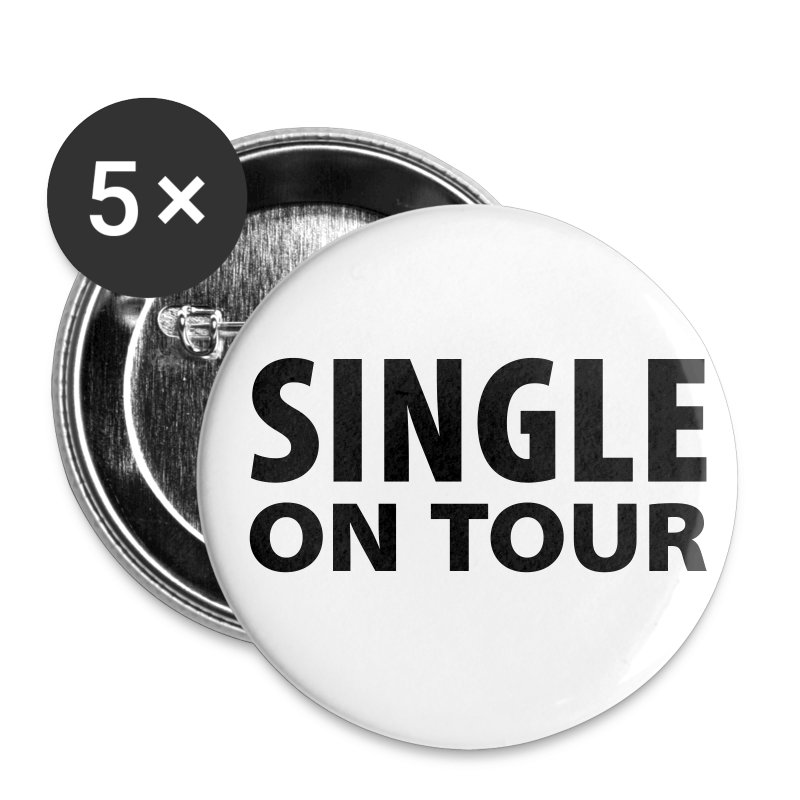 Single on Tour - Buttons klein 25 mm