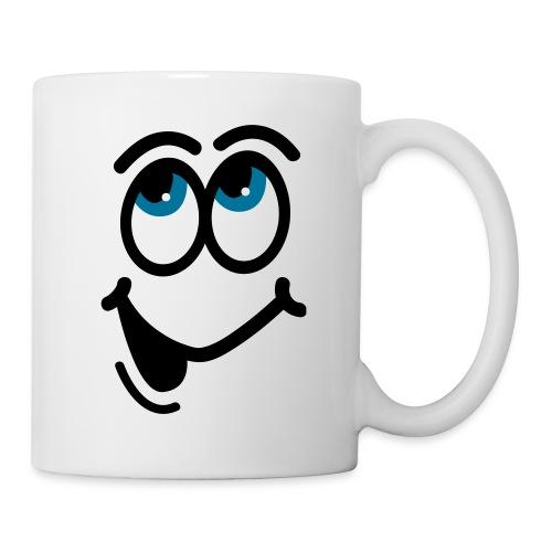 tasse pour droitier - Mug blanc