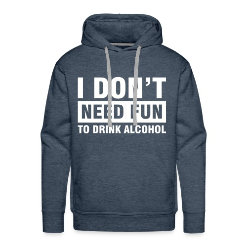 Alcohol Jumper - Men's Premium Hoodie