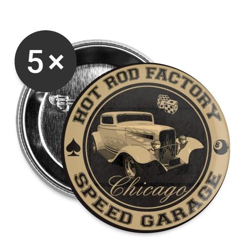 Hot Rod vintage logo - Buttons large 56 mm