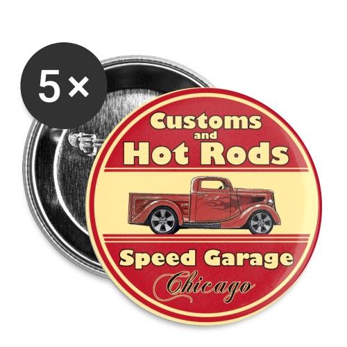 Hot Rod (vintage logo) - Buttons large 56 mm