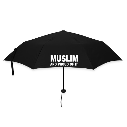 Muslim and proud of it - Parapluie standard
