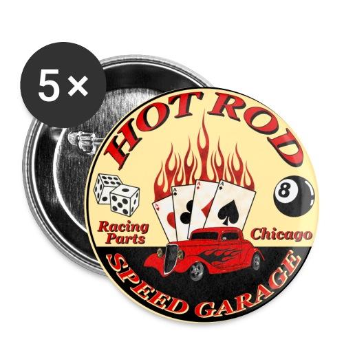 Hot Rod -vintage logo- - Buttons large 56 mm